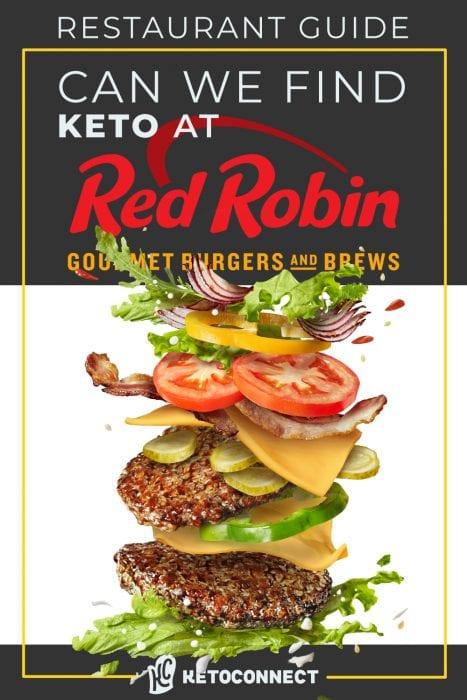 20 Best Red Robin Keto Menu Options