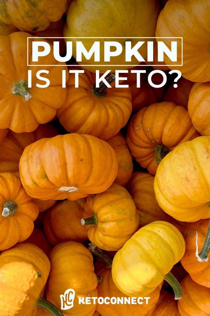 is pumpkin a keto friendly food