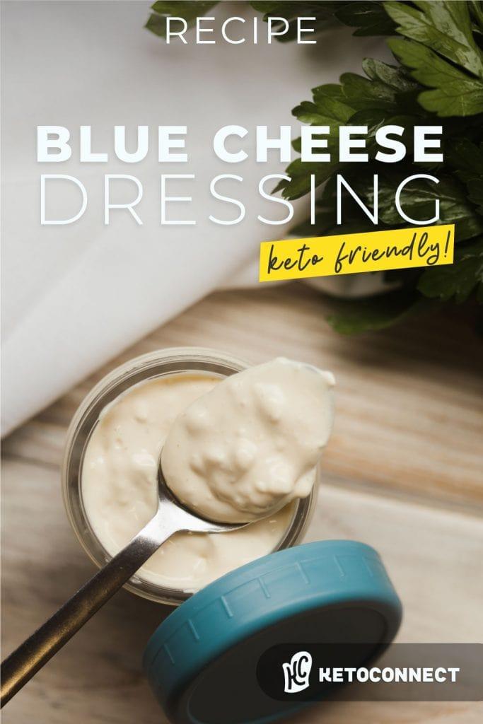 easy keto blue cheese dressing recipe