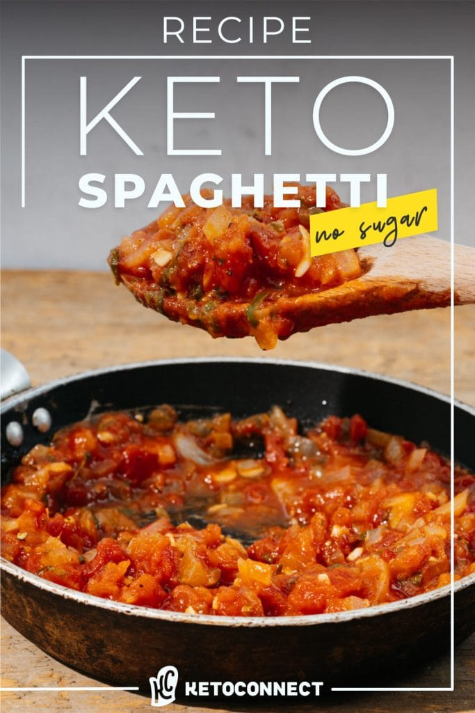 the perfect keto spaghetti sauce for your low carb pasta night