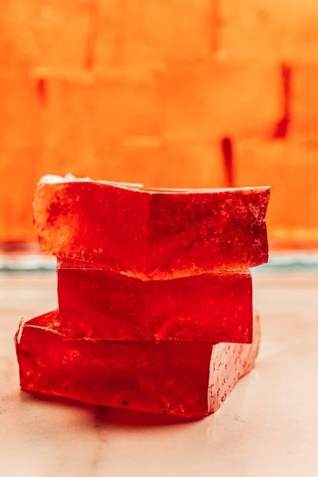 sugar free jello keto recipe stacked