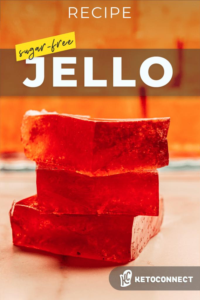 stack of sugar free jello